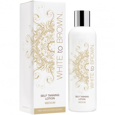 WHITETOBROWN Zelfbruiner Self Tan Lotion - Medium (250 ml)