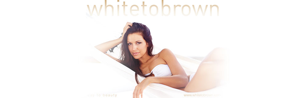 Banner whitetobrown